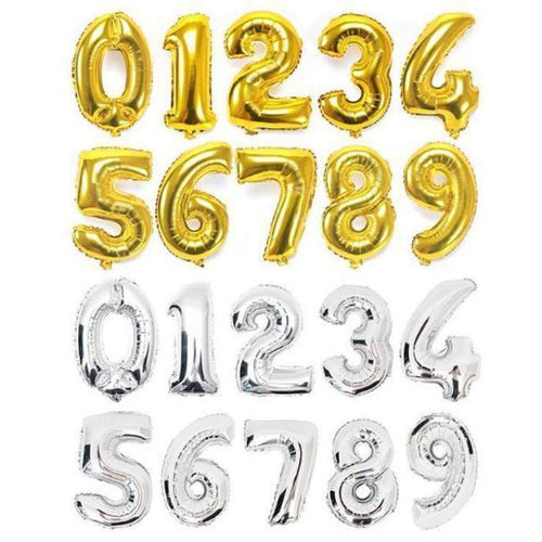 Number Balloons - LYB Concepts