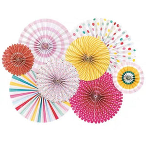 Summer Brights Pinwheel Set of 8 - LYB Concepts