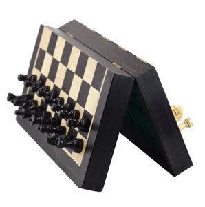 ROOGU The Black Book - Magnetic Chess Wood Set 10