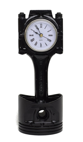 ROOGU Goliath Desk Clock from Recycled Jaguar XJ-S 1985 Piston Cylinder Car Part Fan