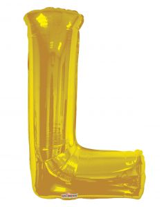 "Letter Balloon ""L"""