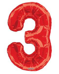 "Number Balloon ""3"""