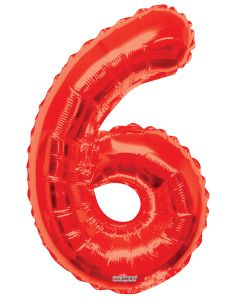 "Number Balloon ""6"""