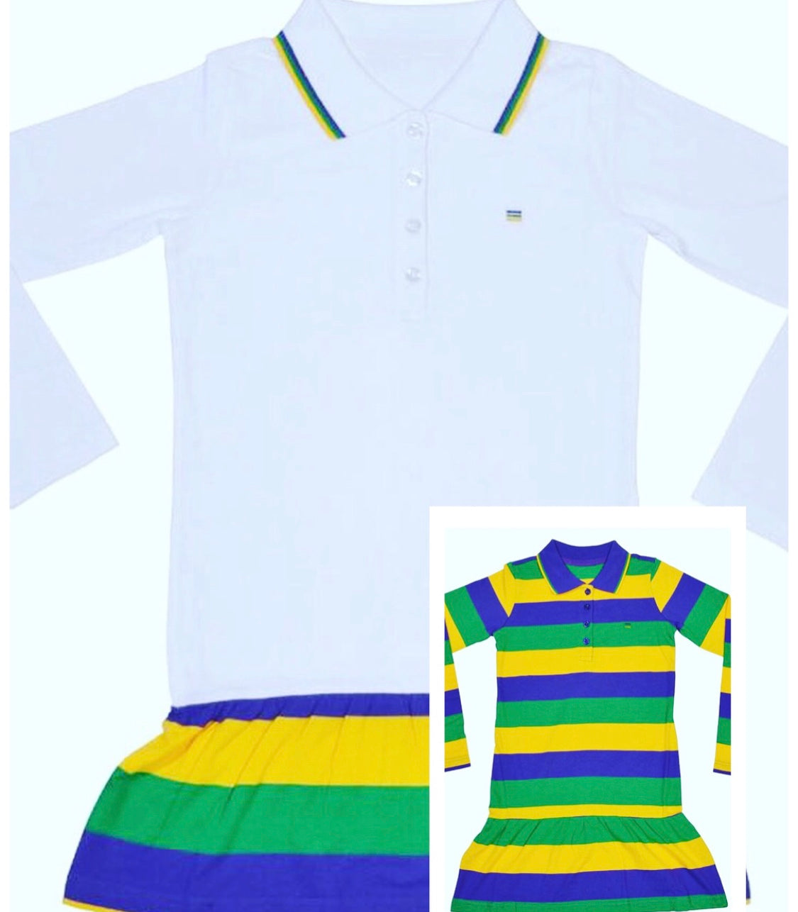 Kids Mardi Gras Dress