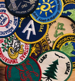 "Patches: 3"" Round Sew-On (See Choices)"
