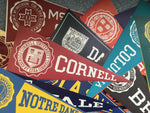 Luggage Pennant Decals: Colleges & Universities (See Choices)
