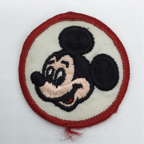 "Patch: 2"" Round Iron On Embroidered Cotton (See Choices)"
