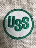 Patch: USS Vintage White & Green