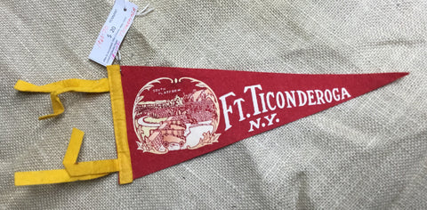 "Pennants: Historic Attractions 10-11"" 1950-1970s"