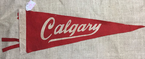 Pennants: Canadian Wool 1950s -1970s