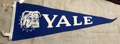 "Pennant: Connecticut - Yale University - 29"" 1950-70"