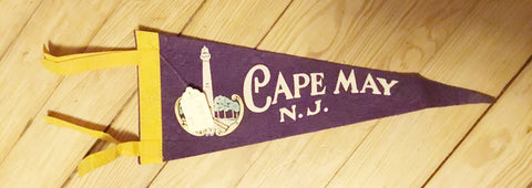 "Pennants: USA Cities Hard Felt 11-13"" 1960s-1970s (See Choices)"