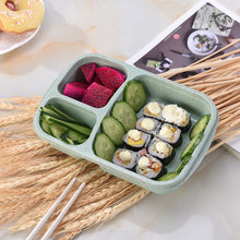 Load image into Gallery viewer, Eco-Friendly Wheat Straw Bento Lunch Box
