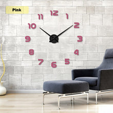 Load image into Gallery viewer, 3D DIY Wall Clock Set