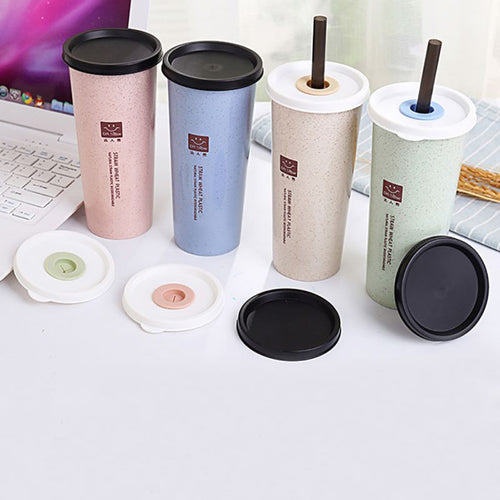 Nordic Style Eco-Friendly Wheat Straw Travel Cup