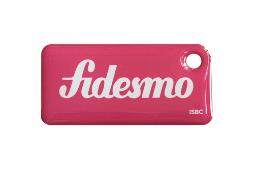 Fidesmo Signature Pink Tag