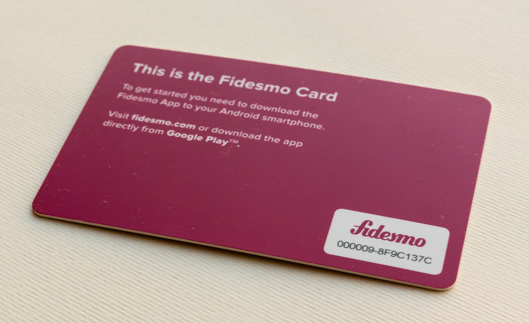 Fidesmo Card 2.0