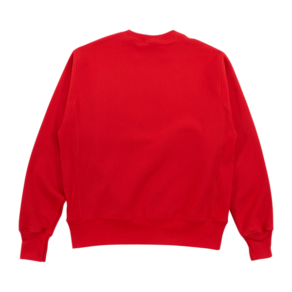FC Embroidery Logo Crewneck - Red