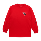 FC Core Long Sleeve - Red