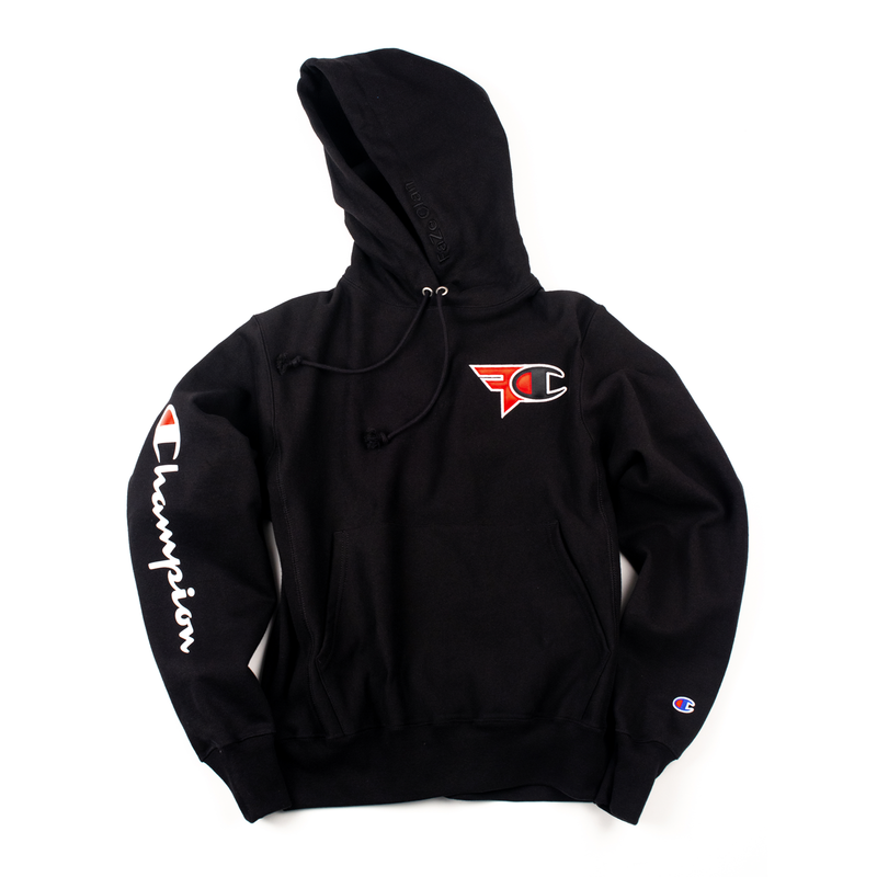 FaZe Clan x Champion Hoodie - Black - SOLD OUT