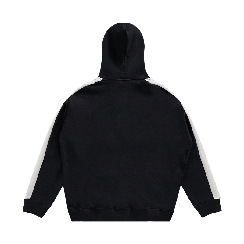 Level Up Stripe Zip Hoodie