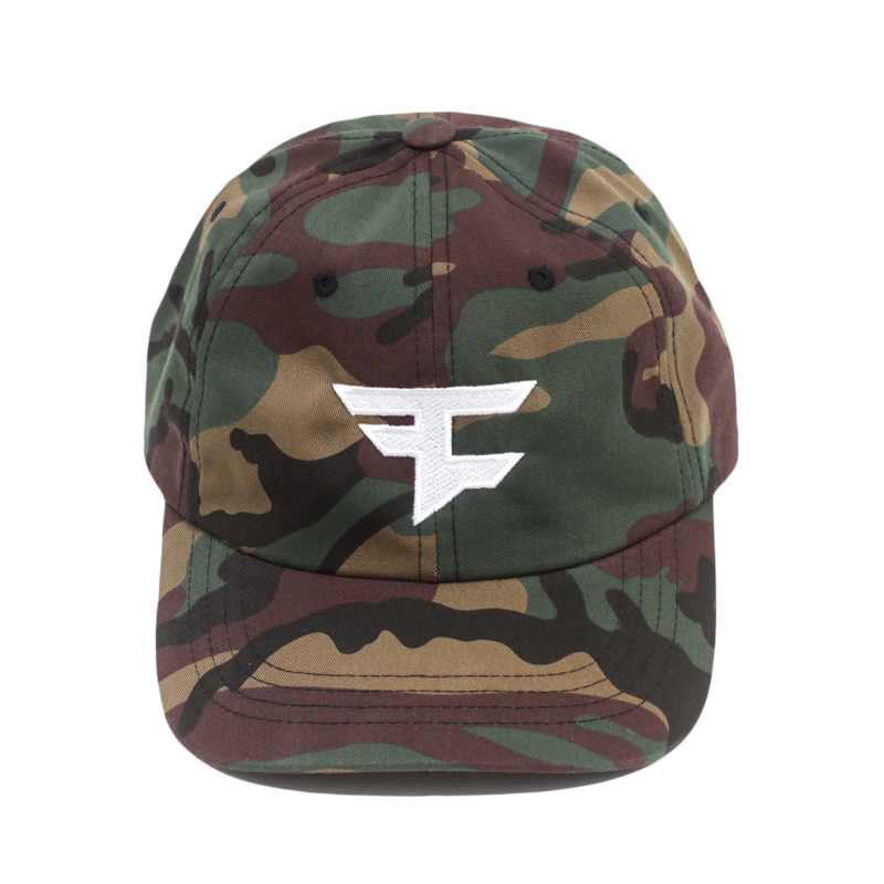 FC Logo Tan Camo Dad Hat