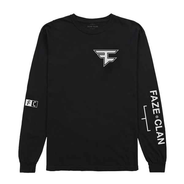 FC Core Long Sleeve Black