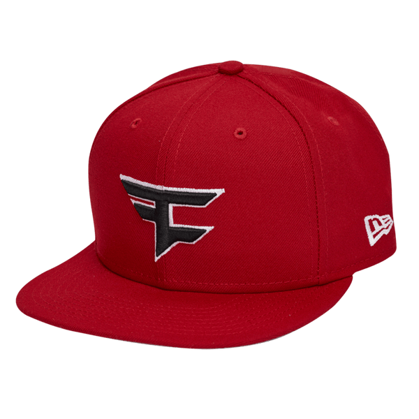 New Era x FaZe Clan Logo Snapback - Red