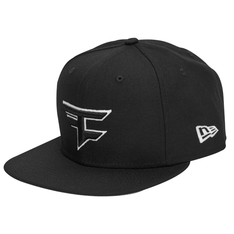 New Era x FaZe Clan Logo Snapback - Black