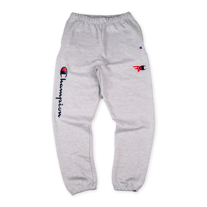 0390613b5 FaZe Clan x Champion Sweatpants Grey