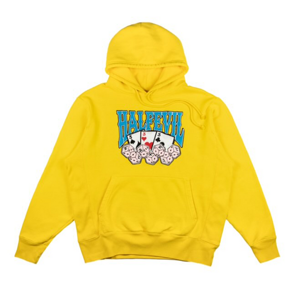 HIGH ROLLERS HOODIE YELLOW