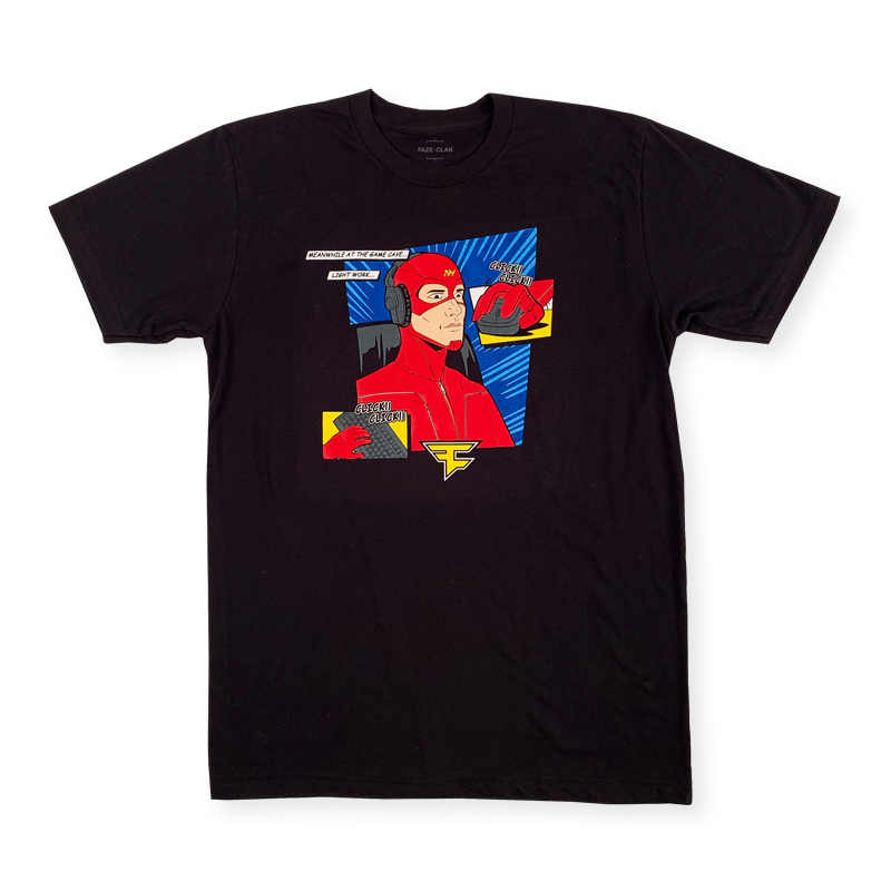 Nate Hill Hero Tee Black