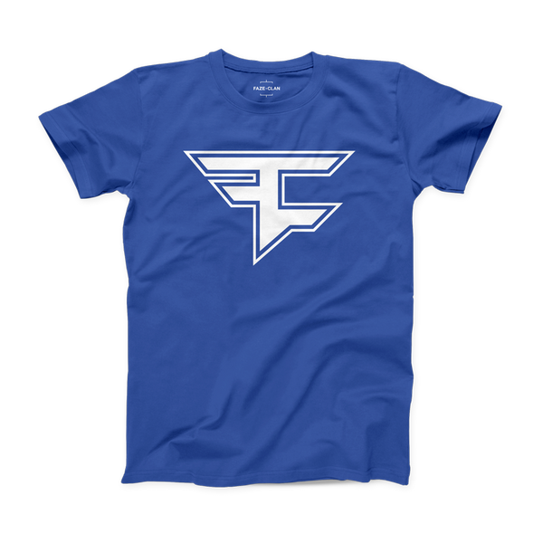 Youth Double Logo Royal Blue Tee