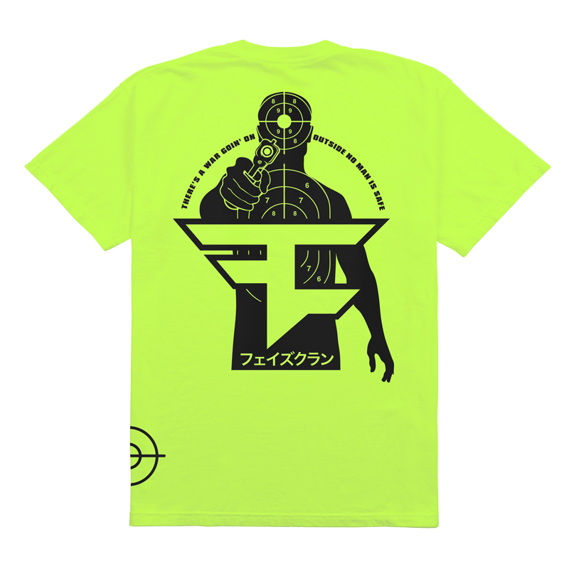 Shooter Tee Neon Green