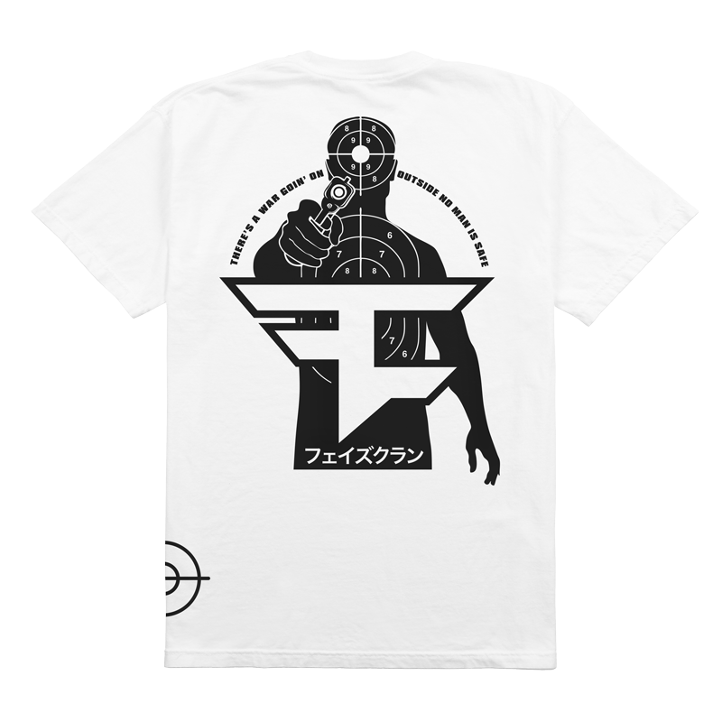 Shooter Tee White