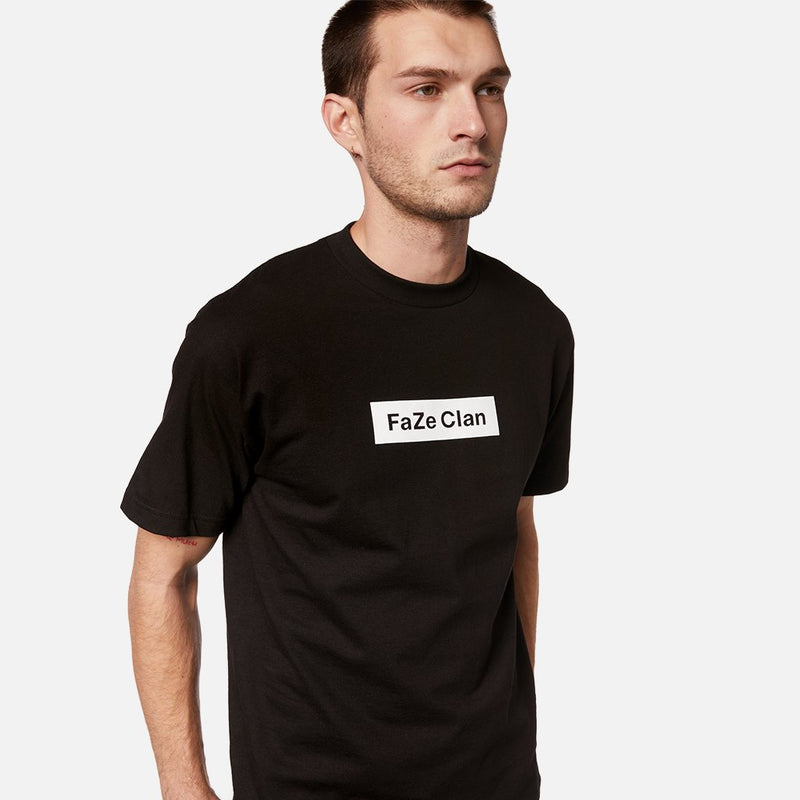 FaZe Clan Black Box Logo Tee