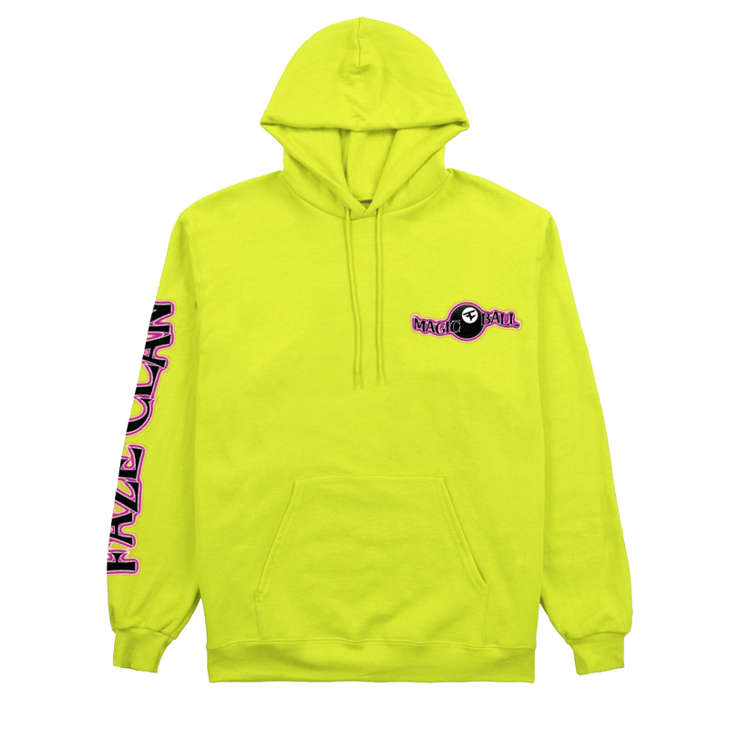 Magic FaZe Ball Hoodie Safety Yellow