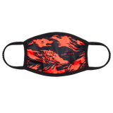 FaZe Clan Face Mask – Red Camo