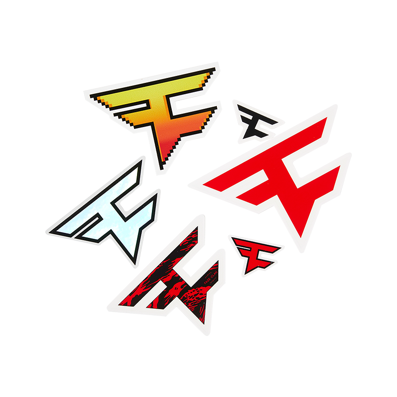FaZe Logomania Sticker Pack