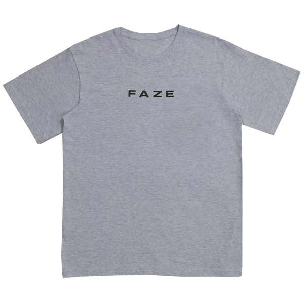 FaZe Embroidered Tee - Heather Gray
