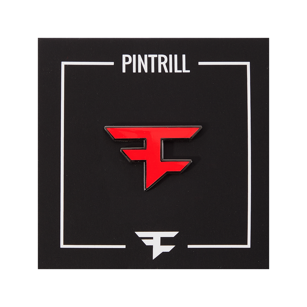FaZe Clan + PinTrill Logo Pin