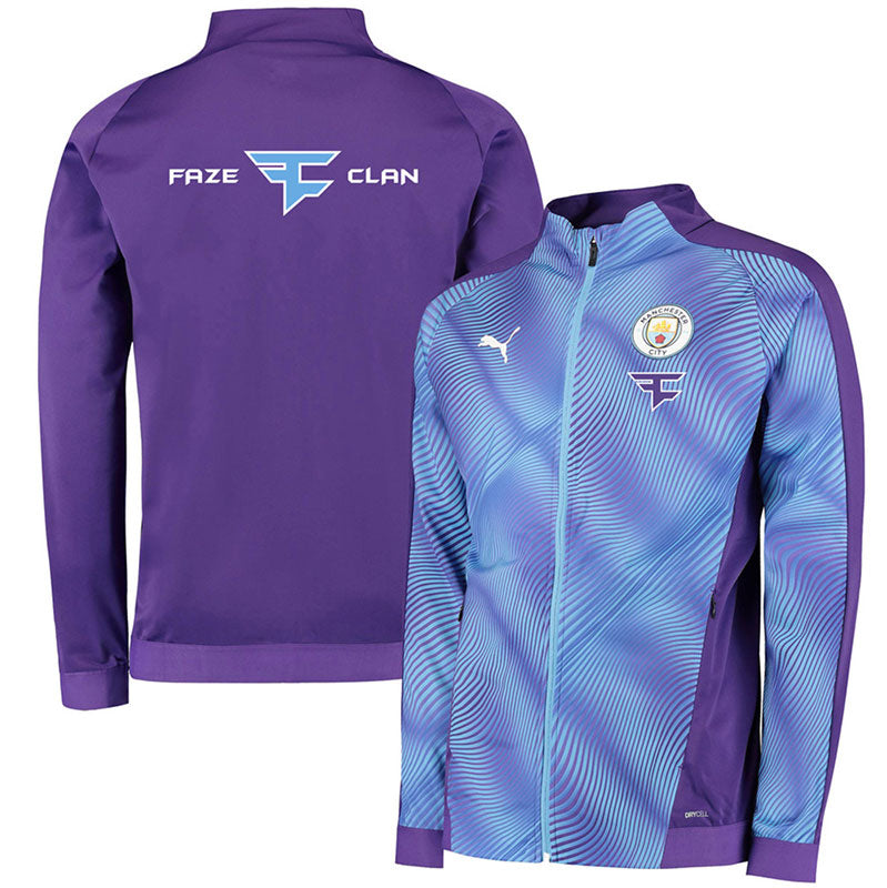 Manchester City X Faze Clan Stadium Jacket