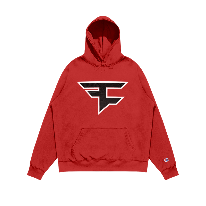 Youth FaZe Clan 2020 Logo Hoodie Red