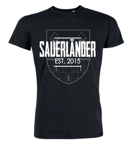 "T-Shirt ""Sauerländer Bauerntölpel Background"""