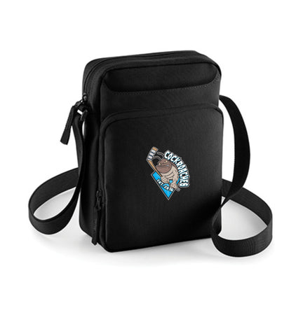 "Crossbody Bag - ""EHC Cockroaches #crossbodybaglogo"""