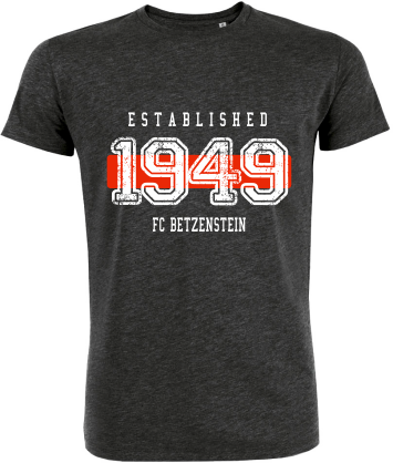 "T-Shirt ""FC Betzenstein Established"""