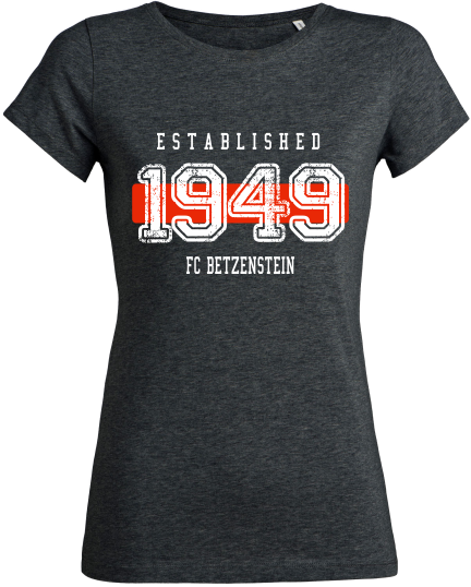 "Women's T-Shirt ""FC Betzenstein Established"""
