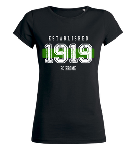"Women's T-Shirt ""FC Brome Established"""