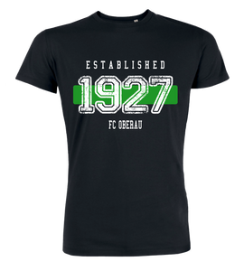"T-Shirt ""FC Oberau Established"""