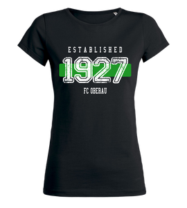"Women's T-Shirt ""FC Oberau Established"""